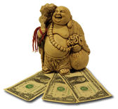 Hottey - god van rijkdom. — Stockfoto