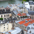 Stock Photo: Paris rooftops.