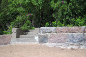 Stone steps. — Stock fotografie