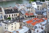 Paris rooftops. — Stock Photo