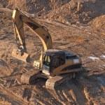 Excavatorl. — Stock Photo