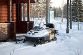 Snowmobiles. — Stock Photo