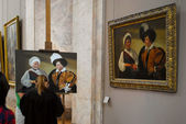In the Louvre. — Stock Photo