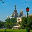Stock Photo: View of Church of Savior on blood.