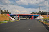 Junction of the motorway. — Stock Photo