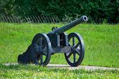 Ancient artillery piece. — Stock Photo