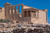 The ruins of the temple of Aphrodite. — Stock Photo