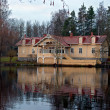Stock Photo: Lake House.