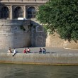 Stock Photo: Seine embankment.