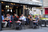 Parisian cafe. — Stock Photo