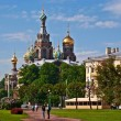 Stock Photo: Church of Savior on blood.
