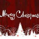 Handwriting. Merry Christmas. — Stock Vector #14057740