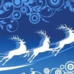 Santa's Sleigh — Stock Vector #14059825