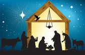 Star of Bethlehem — Stock Vector