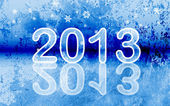 2013 - New year background — Stock Vector
