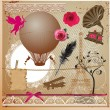 Vintage Collection - for design, scrapbook - in vector — Stock Vector