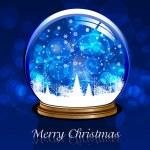 Vector snow globe — Stock Vector #36201037
