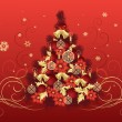 Vettoriale Stock : Christmas Tree Design