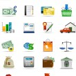 Vector icons series. — Stock Vector