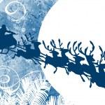 Santa's Sleigh — Stock Vector #39904897