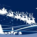 Santa's Sleigh — Stock Vector #39904903