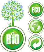 Eco signs. — Stock Vector