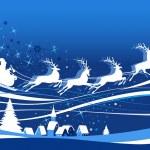 Santa's Sleigh — Stock Vector #39914913