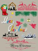 Christmas illustration — Stock Vector