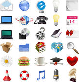 Set of internet icons. — Stock Vector
