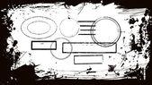 Abstract design frame. — Stock Vector