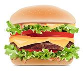Hamburger. — Stock Vector