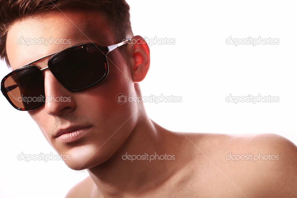 Necessary Nude men with glasses