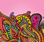 Paisley background — Stock Vector
