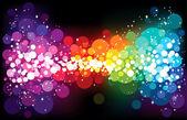 Rainbow stardust — Stock Vector