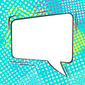 Empty speech bubble — Stock Vector