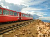 Mountain train in Colorado — Stock Photo