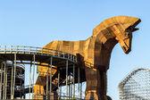 Wooden Trojan Horse — Stock Photo