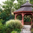 Stock Photo: Garden gazebo