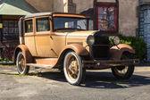 Rusty classic car — Stock Photo