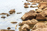 Big rocks in the water — Stock Photo