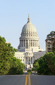 State Capitol of Wisconsin in Madison — Stock Photo