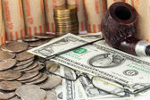 Saving money for retirement — Stock Photo