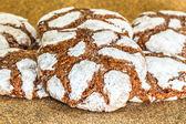 Chocolate crinkles — Stock Photo