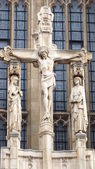 Leeds Cathedral Christ on the Cross — Stock Photo