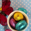 ������, ������: Easter eggs and butterfly