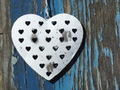 Shabby Chic Heart — 图库照片