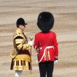 Trooping the Colour at Horse Guards — Stock Photo
