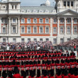 Stock Photo: Trooping the Colour at Horse Guards