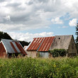 Abandoned French Barns — Stockfoto