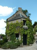 Traditional French village house — Stock Photo